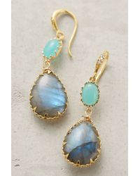 Indulgems - Blue Quartz Cove Drops - Lyst