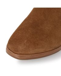 Dune | Brown Parker Square Toe Chelsea Ankle Boots | Lyst