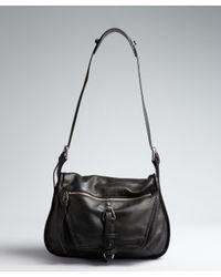 Kooba   Black Leather Troi Shoulder Bag   Lyst