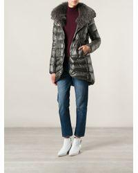 Herno Gray Padded Coat
