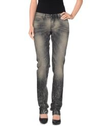 Dolce & Gabbana | Gray Denim Trousers | Lyst
