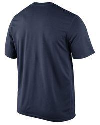 Nike Blue Men'S Short-Sleeve Denver Broncos T-Shirt for men