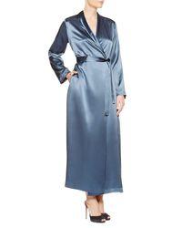 La Perla | Blue Long Robe | Lyst
