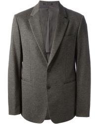Emporio Armani   Gray Classic Blazer for Men   Lyst