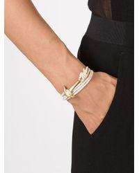 Miansai | White Anchor On Rope Bracelet | Lyst
