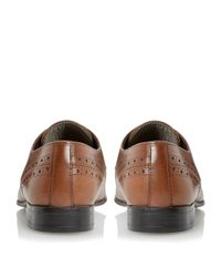 Dune | Brown Rescues Chisel Toe Leather Gibson Shoes for Men | Lyst
