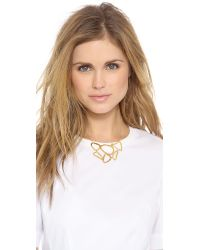 Gorjana - Metallic Tiago Collar Necklace Gold - Lyst