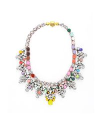 Shourouk | Multicolor Madison Jumble Necklace | Lyst