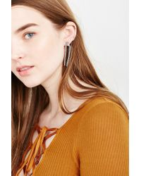 Urban Outfitters | Metallic Forever Knotted Chain Drops | Lyst
