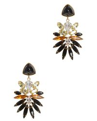 Lizzie Fortunato | Multicolor Paradise Green Stone Earrings | Lyst