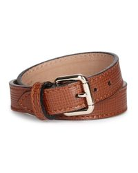 Proenza Schouler | Ps11 Brown Leather Bracelet | Lyst