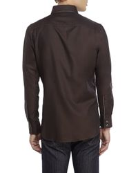 Stone Rose | Brown Sport Shirt for Men | Lyst