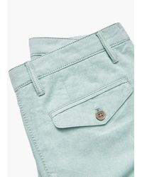Mango | Green Cotton Bermuda Shorts for Men | Lyst
