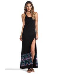 L*Space - L Midnight Waves Racerback Dress in Black - Lyst