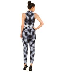 Cameo - Black X-ray Chicago Pantsuit - Lyst