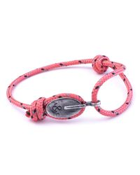 Anchor & Crew | All Pink London Rope Bracelet | Lyst