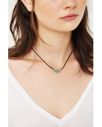 Urban Outfitters - Metallic Nola Short Necklace - Lyst