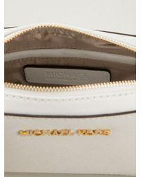 MICHAEL Michael Kors White Cross Body Bag