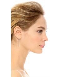 Vanessa Mooney - Metallic Zeppelin Earring Set - Lyst