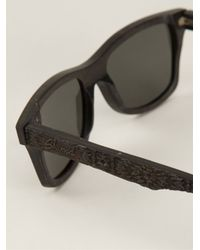 Shwood Gray Limited 'Canby' Sunglasses for men