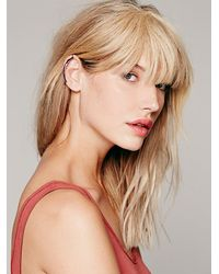 Free People | Metallic Knobbly Womens Minimal Ear Cuff | Lyst