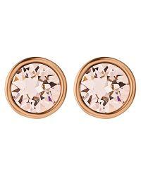 Dyrberg/Kern | Pink Dyrberg/kern Brid Swarovski Crystal Stud Earrings | Lyst