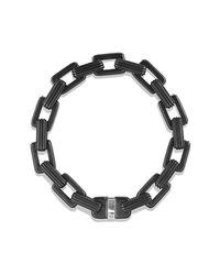 David Yurman - Blue Royal Cord Link Bracelet With Sapphires for Men - Lyst