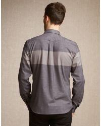 Belstaff Gray Woodham Shirt for men