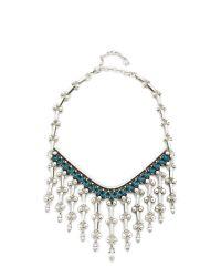 DANNIJO | Blue Havinita Necklace | Lyst