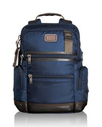 Tumi - Blue Alpha Bravo Backpack for Men - Lyst