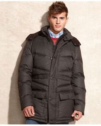 Vince Camuto   Brown Removable Hood Flannel Anorak for Men   Lyst