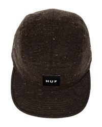 Huf Blue The Speckled Twill 5 Panel Hat for men