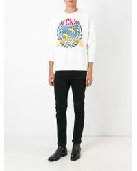 Faith Connexion - White Printed Sweatshirt for Men - Lyst