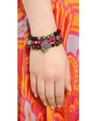 Samantha Wills - Purple Running Home Bracelet Set - Lyst