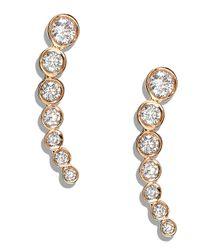 Lana Jewelry White Femme Fatale Diamond Earrings