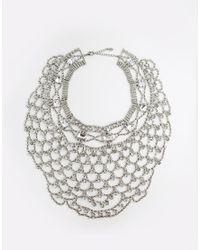 ALDO | Metallic Herade Wow Necklace | Lyst