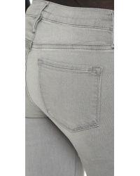 FRAME Gray Le Skinny De Jeanne Jeans - Russo