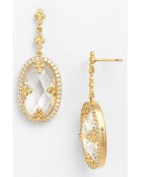 Freida Rothman - Metallic 'metropolitan' Drop Earrings - Lyst