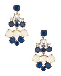 kate spade new york | Natural Symphony Sparkle Statement Stud Earrings | Lyst