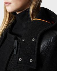 Hunter | Black Women's Original Wool Duffle Coat | Lyst