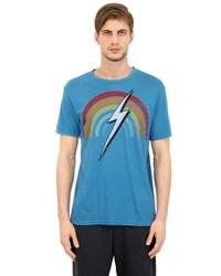 Lightning Bolt | Blue Rainbow Cotton Jersey for Men | Lyst