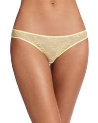 Stella McCartney - Yellow Scarlett Weaving Bikini - Lyst