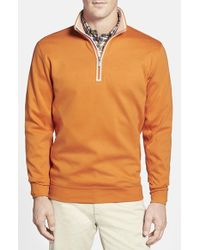 Bobby Jones | Brown Quarter Zip Pullover for Men | Lyst