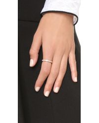 Astley Clarke - Pink Moonstone Eternity Ring - Rose Gold/clear - Lyst