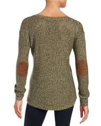 Lord & Taylor - Green Pineapple Knit Sweater - Lyst