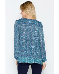 Joie | Blue Pazima Top | Lyst