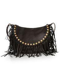 Valentino | Black My Rockstud Rolling Single Handle Bag | Lyst
