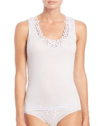 COACH | White Isabeau Tank Top | Lyst