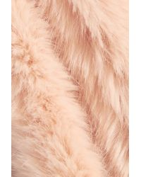 J.Crew - Pink Collection Faux Fur Scarf - Lyst
