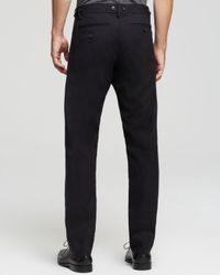 Marc By Marc Jacobs Black Ronnie Slim Fit Flannel Pants for men